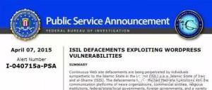 FBI警告WordPress网站漏洞容易导致黑客攻击-贾旭博客