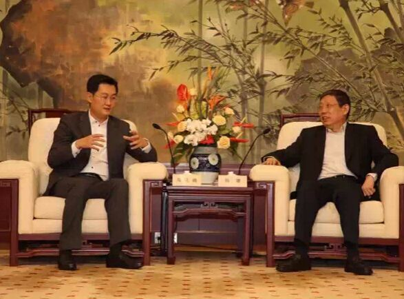 马化腾:腾讯与上海合力打造升级版众创平台