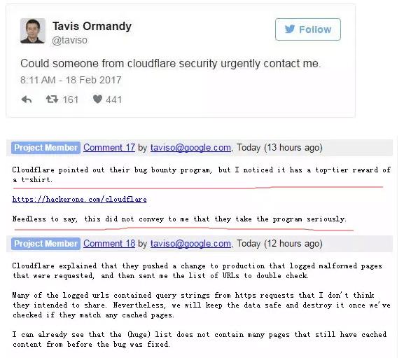 Cloudflare泄露百万客户站点的密码等私密信息长达数月-贾旭博客