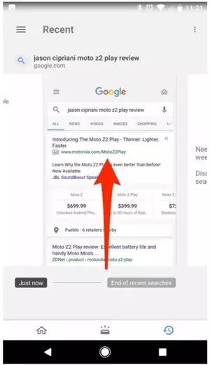 你搜索过的羞羞小网站,谷歌都悄悄帮你保存起来了