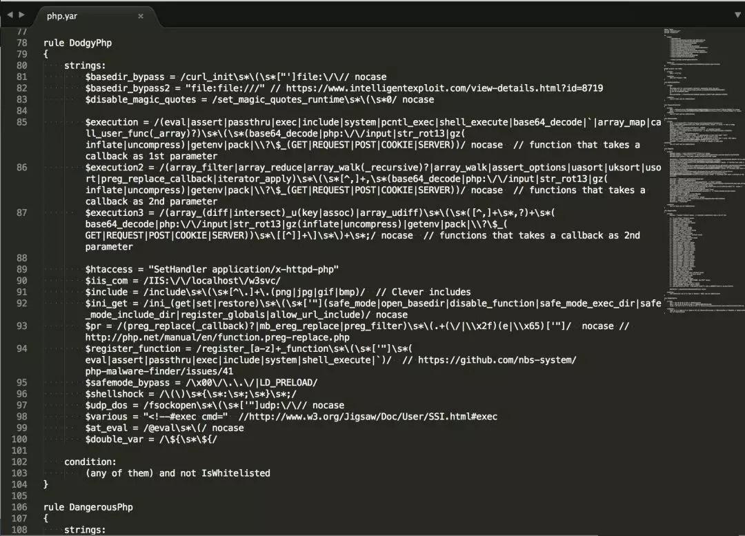 一款好用的php webshell检测工具