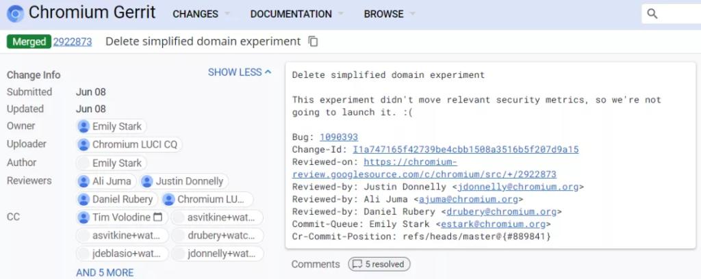 Chrome终于不再折腾URL了