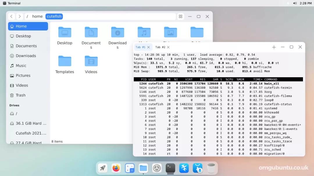 Linux发行版新秀!风格对比苹果